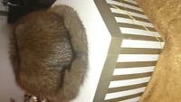 Ladies mink fur hat