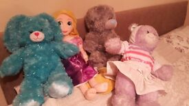 2 build a bear. Rapunzel doll. Me to you pyjama case