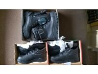 3 pairs ROCK FALL of Total New Safety Shoes Size 10 (EU - 44) ONLY £ 40!!!