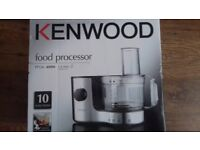 Kenwood food processor BNIB