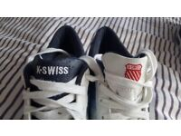 K Swiss trainers hardly worn