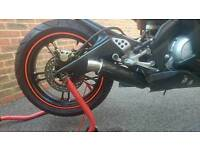 Yamaha Yzf r125, hpi clear, 2013, delivery available, well looked after