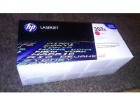 New and Sealed Original HP CP5225 C307A Magenta and Yellow Toners