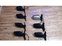Lexus is200 black wing side mirror complete unit 98-99 breaking spares Can post