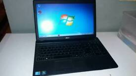 Acer travelmate Windows 7 i3 laptop with HDMI & Webcam
