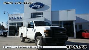 2008 Ford F-350 XL 4X4 5.4L V8 *8 FT BOX*