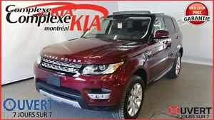 2016 Land Rover Range Rover Sport DIESEL SPORT CUIR GPS TOIT OUV