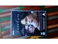 Collection of Jane Austen / Jane Eyre dvd