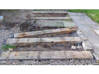 Railway Sleepers used - free for collection