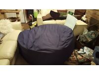 MASSIVE cotton beanbag