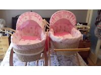 Moses Baskets 2 Available Excellent Condition