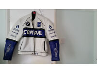 Genuine BMW leather Motorcycle jacket...................£35
