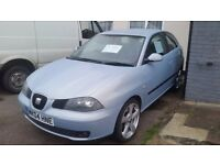 Seat Ibiza 1.9TDI. Very reliable. 16inc alloys with excellent tread, 6 disk cd changer, 2Keys
