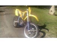 husaberg 501 enduro motorbike 2004 04reg