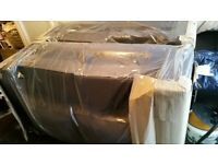 Brand new 2x2 seats brown sofa