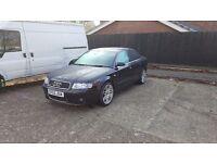 ( QUICK SALE ) Audi A4 quattro black ( £2500 )