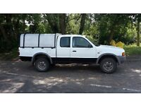 Ford Ranger supercab with ifor Williams canopy. Recent clutch.