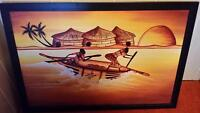 Large African Theme painting