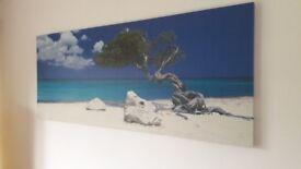 Ikea Canvas Tropical Beach Picture