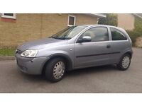 Vauxhall Corsa Low Mileage - not vw golf polo ford fiesta yaris clio
