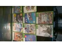 xbox 360, 3 controllers plus many games, also comes with headphones
