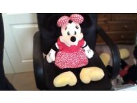 minnie mouse soft teddy