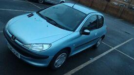 Peugeot 206 look 2001, 1.1L 3dr hatchback