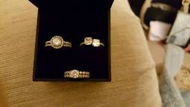 3 size p try diamond rings.