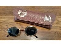 Ray-Ban Sunglasses by Bausch & Lomb : Classic tortoiseshell/gold frame, black scratch- free lens.