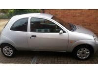 Silver Ford KA 2005 plate - Perfect first car