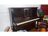 Used Spencer Upright Piano - split frame