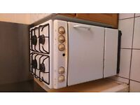 Free standing Gas Cooker with hob and oven.