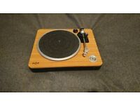 House of Marley Turn It Up Record Player Turntable