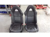 Mazda RX8 Front Leather Seats Land rover T5 T4 Kit Car