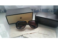 Louis Vuitton Evidence Black Gold Z240W J0615 Sunglasses