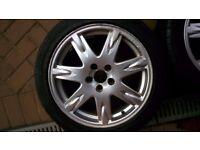 Volvo S60 / V70 / S80 17 inch alloy wheels
