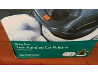 Twin Handle Car / Floor Polisher Mains Powered