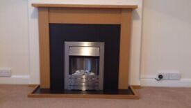 Electric Fireplace 2000W Helios, ADAM, £150