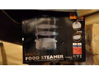Brand new electric food steamer