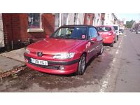 Peugeot 306 Cabriolet 16v 1.8 MOT TILL 06/02/17 lovely little convertible ** GRAB A BARGAIN**