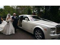 Wedding car hire | Wedding car | Rolls Royce Phantom Hire | Limo Hire | Lamborghini hire