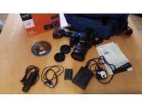 Sony A65 zoom lens kit camera.