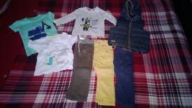 BABY CLOTHS (boys 12-18mth)