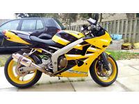 Kawasaki Ninja zx6r zx6 J2 600cc MINT Low Mileage (not gsxr yamaha honda suzuki)