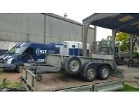 2012 ifor williams gd84g ramptailgate trailer no vat