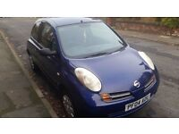 for sale very cheap car nissan micra 1.0 petrol. no scrap no for parts ideal for first driver.RING !