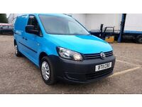 Finance- £115P/M VW- Volkswagen Caddy Maxi Van C20 102TDi -Air Con- 1 Owner X BGas 95K FSH- 1YR MOT