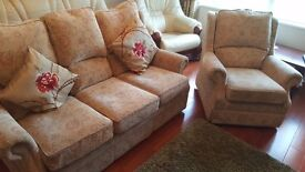 3 seat sofa and chair. Great condition