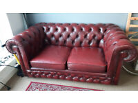 Chesterfield 2 seater sofa. Great Condition. Classic