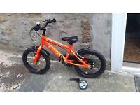 Boys bike 14'